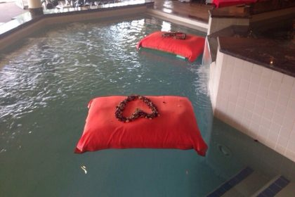 Valentines at the Gatsby Spa Sun City.