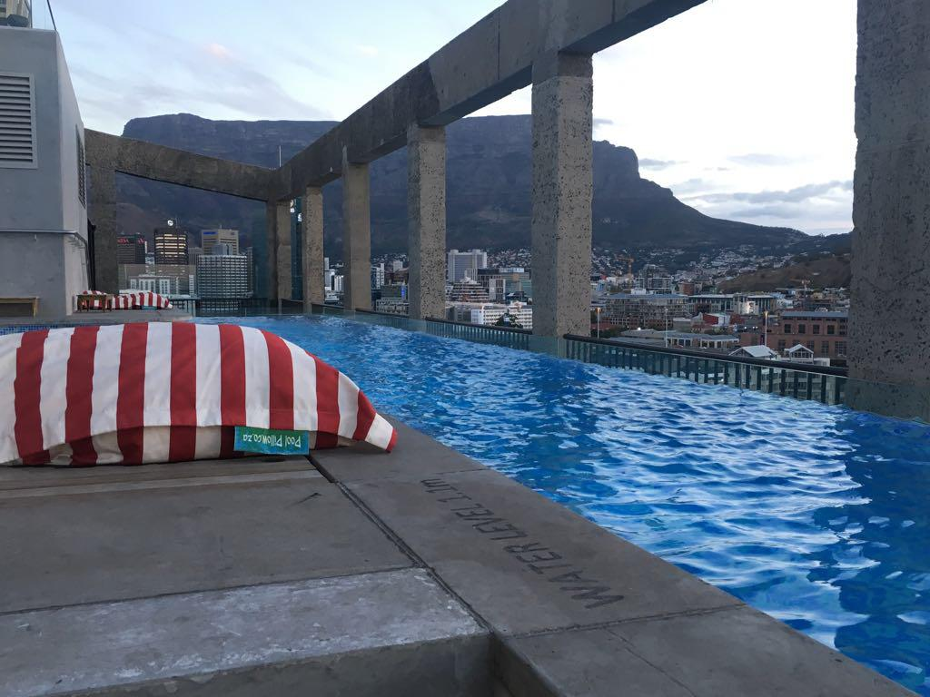 The Pool Pillow at the Silo Hotel - Cape Town