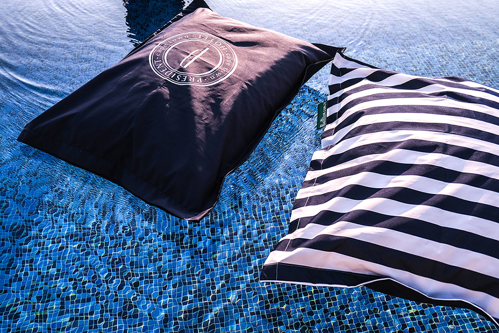 Pool Pillow at the President Hotel